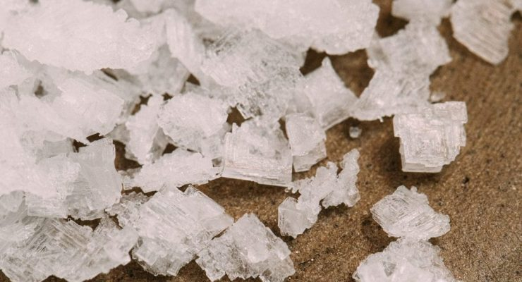 salt in the aquarium salt in freshwater