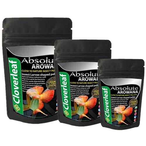 Cloverleaf 150g Absolute 45 High Protein Floating Arowana Insect Pellet Food 0